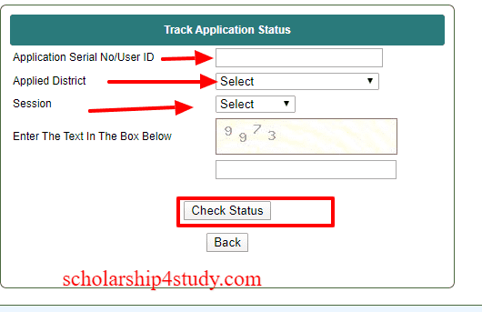 oasis-status-west-bengal Online Scholarship Application Form For Obc In West Bengal on